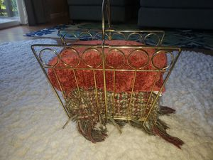 Vintage record holder; magazine rack; blanket cozy, etc. for Sale in Vancouver, WA