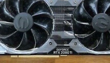 EVGA GeForce RTX 2080 Ti XC ULTRA GAMING Graphics Card: for Sale in Falls Church,  VA