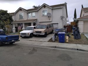 94 silverado and 96 club wagon trade 4 harley or cash for Sale in Patterson, CA