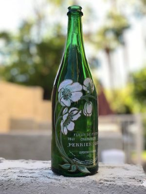 GLASS Perrier Jouet Champagne bottle 1973 COLLECTIBLE for Sale in Gilbert, AZ