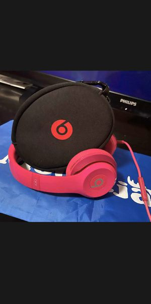 Beats by Dre Solo 2.0 On-Ear Headphones (Pink) for Sale in New York, NY
