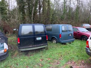 Two minivans parts cars GMC and Chevy for Sale in Tigard, OR