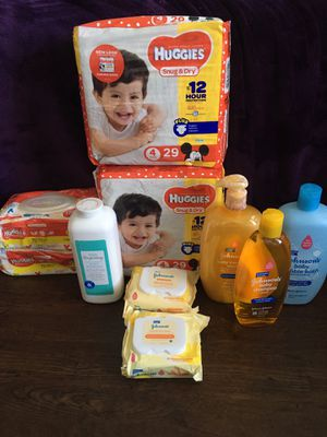 Huggies Size 4 Bundle for Sale in The Colony, TX