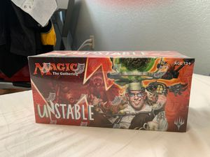 MTG UNSTABLE BOOSTER BOX for Sale in Fairfield, CA