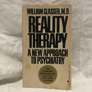 Reality Therapy A New Approach to Psychiatry for Sale in Queens, NY