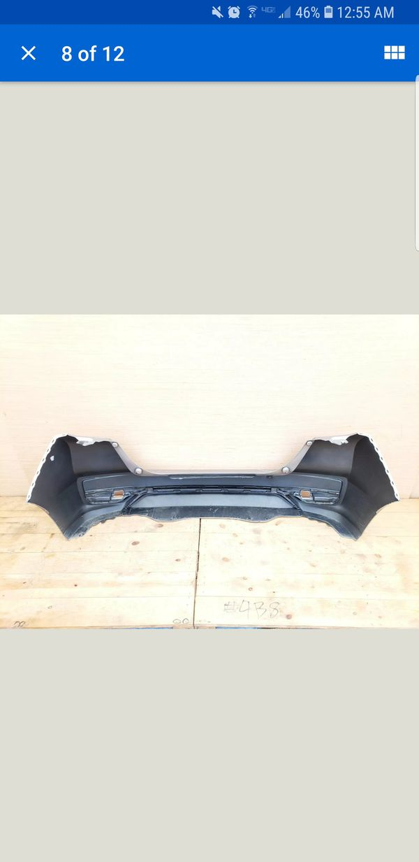 2018 Honda Fit Rear Bumper Cover OEM Original