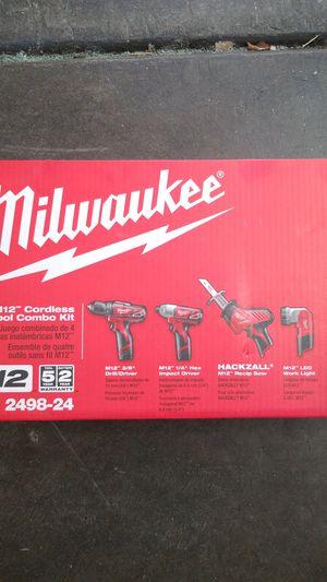 Milwaukee 4 tool combo kit for Sale in Sacramento, CA