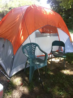 Ozark pup tent-used has small tear in cover, no leaks. for Sale in Childersburg, AL