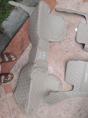 Mercedes benz fitted floor mats...all models from 2000 to 2020 for Sale in Miami, FL