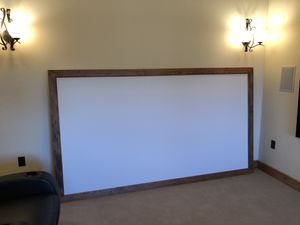Theater screen and Sharp projector for Sale in Montrose, CO