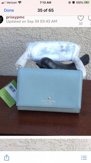 Kate spade light blue crossbody purse for Sale in Discovery Bay, CA