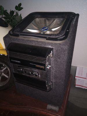 "COMPLETE PREMIUM STEREO SYSTEM KICKER L7 BOX AND 12"" SUB AND 1200 WATT SSL FORCE for Sale in Corona, CA"