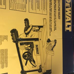 Dewalt Table Saw for Sale in Kent, WA