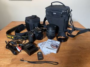 Nikon D5300 Sigma 17-50mm f2.8 and accessories for Sale in San Diego, CA