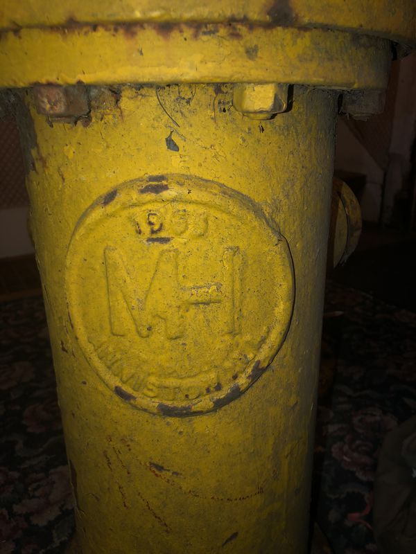 1963 and 1969 Vintage Fire Hydrants