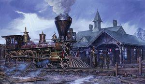 "A John Paul Strain- ""Charleston Station"" for Sale in Harpers Ferry, WV"