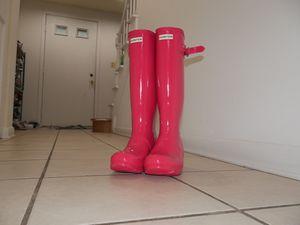 Women Hunter Rain Boots Size 7 for Sale in Schaumburg, IL