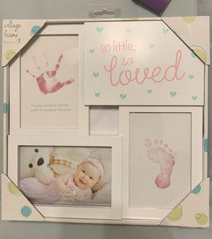 Baby's first moments collage frame for Sale in Baton Rouge, LA