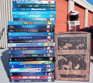 Disney blu-rays and dvds for Sale in Costa Mesa, CA
