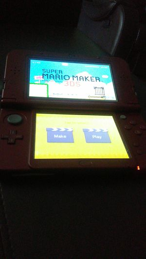 Nintendo 3 DS and it comes with Super Mario Maker 3D for Sale in Austin, TX
