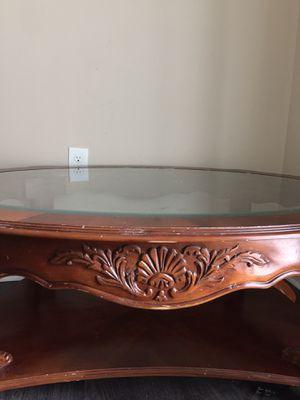Living room table , one shelf kids table lamp for Sale in Herndon, VA