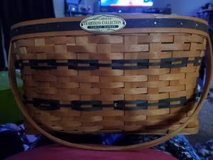 Longaberger basket signed for Sale in BETHEL, WA