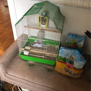 Birdcage and Food for Sale in Tacoma, WA