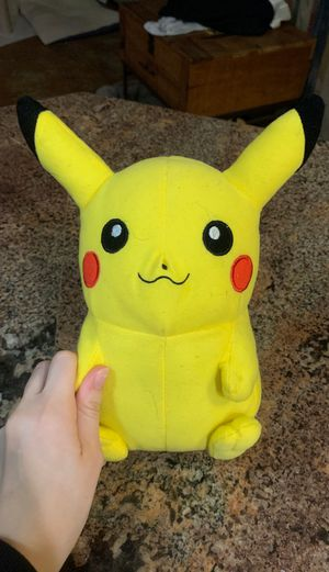 Pikachu Plushie: Pokémon for Sale in Arlington, TX