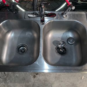 Stainless Steel Sink and Faucet for Sale in Portland, OR