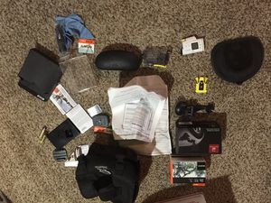 Sony action cam like GoPro tons of accessories for Sale in Haslet, TX