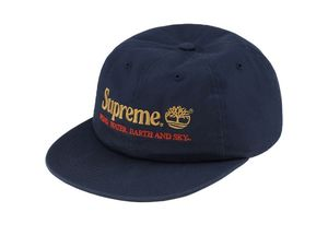 Supreme x Timberland 6-panel hat - Navy for Sale in Lakewood, CA
