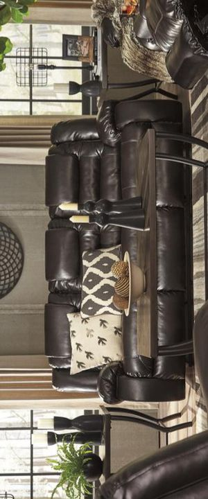 ASHLEY Vacherie Chocolate Reclining Sofa for Sale in Brooklyn Park, MD