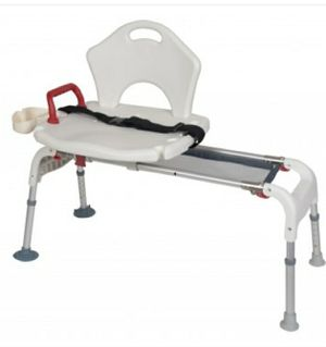 Sliding shower chair for Sale in Welling, OK