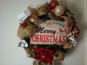 "18-20"" Christmas wreath for Sale in Roanoke, VA"