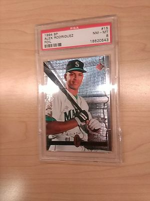 Alex Rodriguez Graded Baseball Cards for Sale in Kissimmee, FL