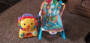 Car and rocking seat for Sale in Rocky Mount, NC