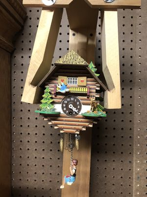 German bouncing girl clock for Sale in Salem, VA