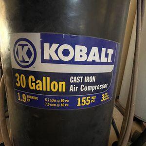 30 Gallon Air Compressor for Sale in Peoria, AZ