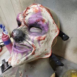 Custom Very Durable Handmade Clown mask for Sale in Los Angeles, CA