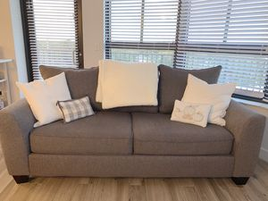 Grey couch and match chair for sale! for Sale in Miami, FL