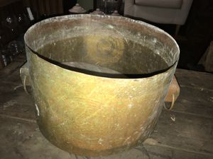 Large copper planter pot boho bohemian for Sale in San Diego, CA