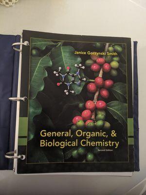 General, Organic, Biochemistry book for Sale in Harrisonburg, VA