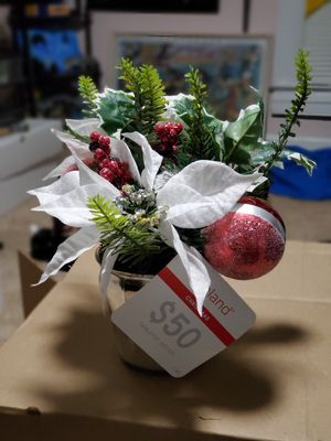 Ashland Home Christmas Potted Plant for Sale in Hanover, MD