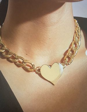 New 1 pc beautiful heart charm necklace for Sale in Fremont, CA