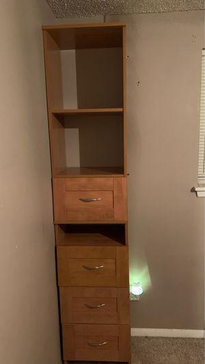 Dresser with shelves for Sale in Abilene, TX