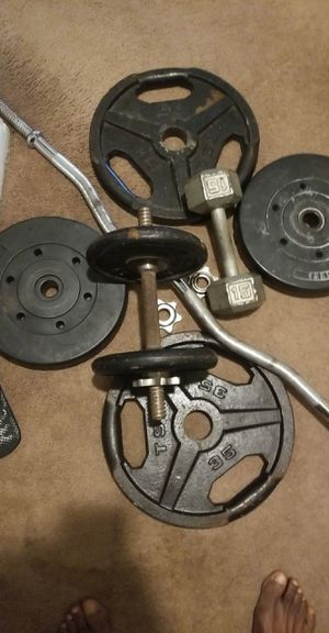 Weights and bench $30 for Sale in East Haven, CT