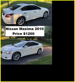 ֆ12OO_2010 Nissan Maxima S for Sale in El Monte, CA
