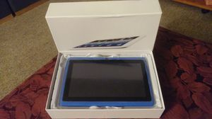 New 7 in blue tablet does everything for Sale in Owatonna, MN