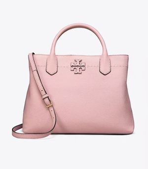 Tory Burch Pink Mcgraw Leather Satchel for Sale in Brooklyn, NY