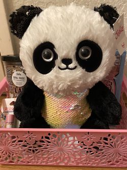Panda Stuffed Anima Easter Basket Cup, Lip Balm, Candy New for Sale in Chino Hills,  CA